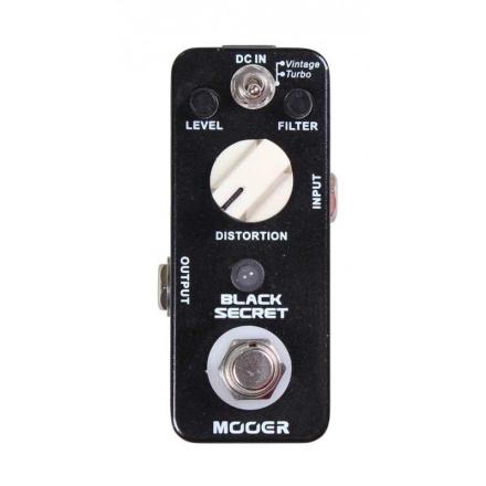 Mooer Black Secret Distortion Guitar Effect Pedal