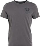 True Religion LOGO Tshirt med tryck anthracite