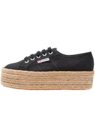 Superga COTROPEW Loafers black