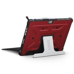 UAG Etui af kompositmaterialer til Microsoft Surface 3, rød/sort
