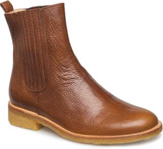 Chelsea Boot Støvletter Chelsea Boot Brun ANGULUS