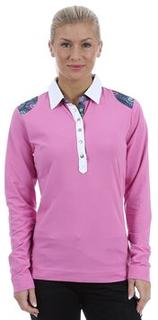 Peacock L/S Polo Shirt