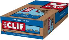 CLIF Bar Energy Bar Box 12 x 68g Chocolate Chip 2020 Näringstillskott & Paket
