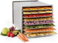 Fruit Jerky Pro 8 torkningsautomat dehydrator 630W 8 nivåer rostfri