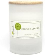 Miljövänligt Doftljus Citrongräs & Lavendel, Litet (ca. 100 g)