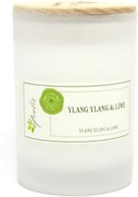 Miljövänligt Doftljus Ylang Ylang & Lime, Litet (ca. 100 g)