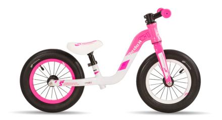 s'cool pedeX 1 Lapset potkupyörä , vaaleanpunainen/valkoinen 2019 Lasten kulkuneuvot