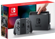 Switch With Joy-Con - Grey (New revised model)