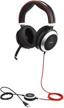 Evolve 80 UC stereo - headset - Svart