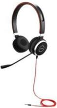 Evolve 40 Stereo - headset - Svart