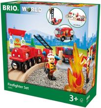 BRIO Rescue 33815 Tågset med brandmanstema