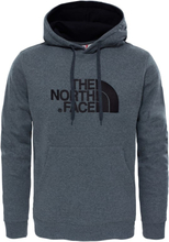 The North Face Men's Drew Peak Pullover Hoodie Herre langermede trøyer Grå L