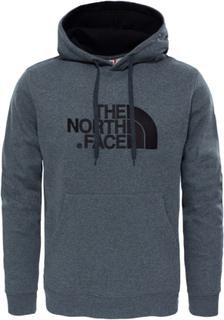The North Face Men's Drew Peak Pullover Hoodie Herre langermede trøyer Grå L