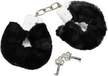 Bad Kitty Soft Cuffs: Handbojor, svart