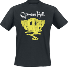 Cypress Hill - Smiley Elephant -T-skjorte - svart