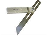 Faithfull Aluminium skjutbara avfasning rostfri kl