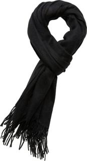 Les Deux Solid Wool Scarf Tørklæde Sort Les Deux
