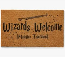 Harry Potter Wizards Welcome Door Mat