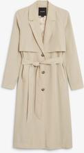 Soft trench coat - Beige