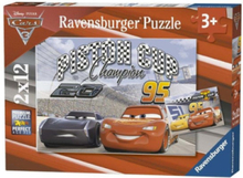 Disney Cars 3 Puzzle 2x12st.
