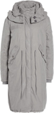 True Religion OVERSIZED WITH FLAG Parkas chalk gre