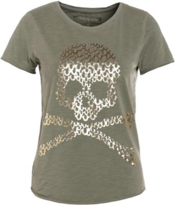 True Religion BOXY CREW SKULL Tshirt med tryck dus
