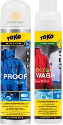 Toko Duo-Pack 2 x 250ml , keltainen 2018 Tekstiilien pesu
