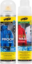 Toko Duo-Pack Tekstiilisuoja& Eco-tekstiilipesuaine 2 x 250ml 2020 Tekstiilien pesu