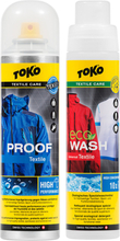 Toko Duo-Pack Textile Proof & Eco Textile Wash 2 x 250ml 2019 Tekstiilien pesu