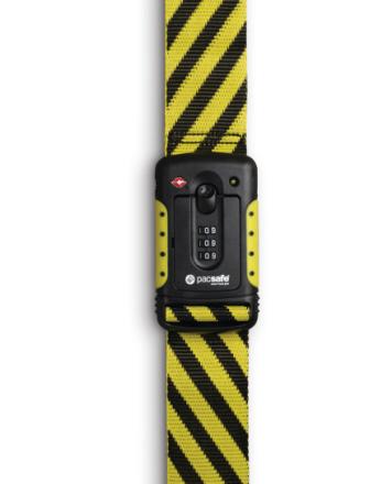 Pacsafe Strapsafe 100 , keltainen/musta 2019 Matkalukot