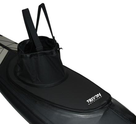 Triton advanced overtræk Thermal PU sort 2018 Tilbehør til gummibåde