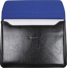 Maroo Leather Sleeve Surface Bookille (musta)