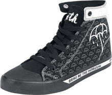 Bring Me The Horizon - EMP Signature Collection -Høye sneakers - svart-hvit