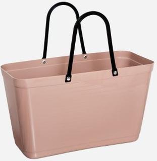 Hinza Väska Stor Nougat - Green Plastic