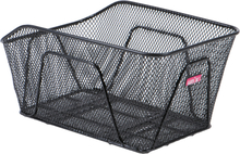 Unix Remigo Fixed Installation Basket black 2020 Cykelkorgar för pakethållare