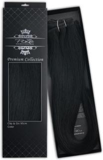 Poze Hairextensions Poze Hårträns Premium 1N Midnight Black 50cm