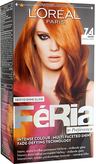Loreal Paris Feria by Preference 7.4 Intensiv Koppar