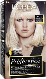 L'Oréal Paris Recital Preference 10.21 Stockholm Extra Ljus Pärlemorblond
