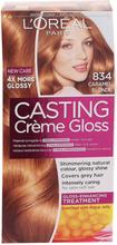 Loreal Paris Casting Creme Gloss 834 Ljus Guldkopparblond