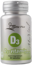 Alpha Plus | D3-vitamin 2500 IE MerVital