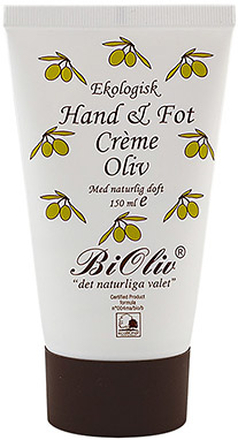 BiOliv   Hand & Fotcreme Oliv