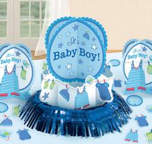 Baby Shower Its a Baby Boy Bordsdekorationer
