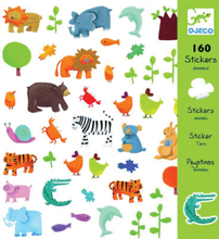 Klistermärken - djur (Djeco)