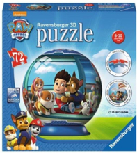 Paw Patrol 72st Puzzelbal Puzzle 3D