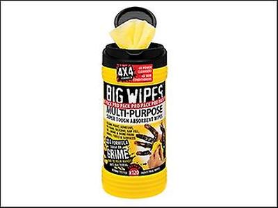 Big Wipes Stora våtservetter svart topp 4 x 4 mult