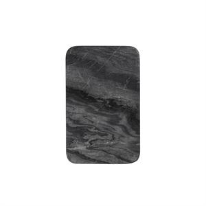 Louise Roe sten platte - Benn platte i sort marmor (small)