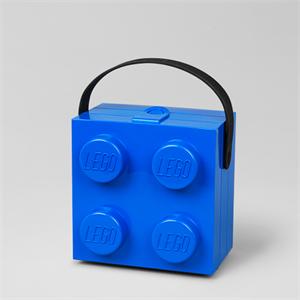 LEGO - Madkasse m. håndtag - Bright blue - Trendyliving