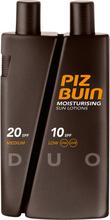Köp Piz Buin Moisturizing Lotion SPF 10/20, 300ml Piz Buin Solskydd fraktfritt