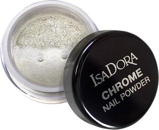 Köp IsaDora Chrome Nail Powder Mirror Silver, 6ml IsaDora Tillbehör fraktfritt