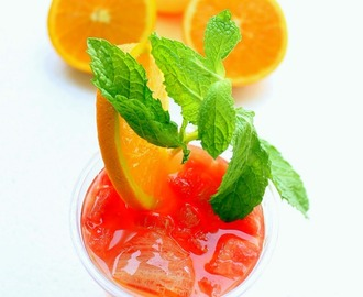 Orange Lemonade Cooler